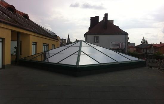 POLOMARKET - folia SILVER 20 DUO z przed┼éuz╠çona╠Ę gwarancja╠Ę do 5 lat montowana na szklanym s╠üwietliku dachowym